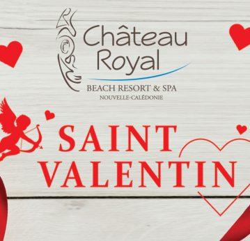 Menu de la Saint Valentin au Chateau Royal